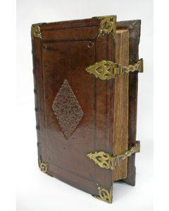 Lutherse bijbel in leren band, Jacob Lindenberg, 1702