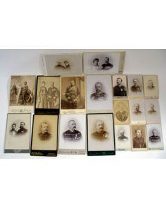 Collectie fotos van Ned. Indische militairen, ca. 1890