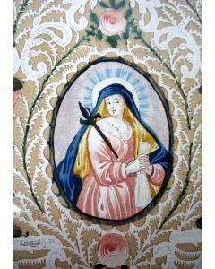 Heiligenafbeelding (santje), 18e eeuw