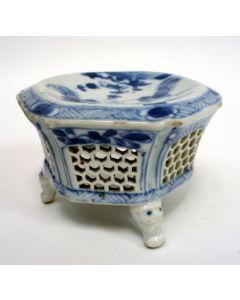 Chinese porseleinen zoutvaten, Kangxi periode, 18e eeuw