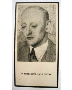 C.C.S. Crone, bidprentje, 1951