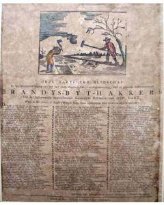 Nieuwjaarswens van de Haagse bijthakkers, 1808