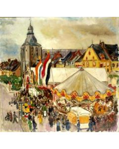 Edmond Wingen, Kermis in Maastricht, 1936