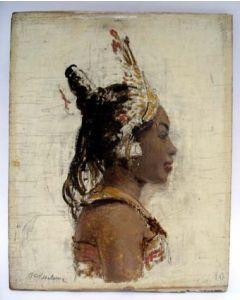 Piet Rezelman, Balinese danseres, ca. 1930