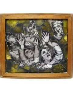 Joep Nicolas, glasschildering, ca. 1928