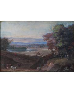 Johann Christoph Dietzsch, Arcadisch landschap, 18e eeuw