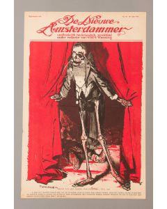 Piet van der Hem, Het derde oorlogsjaar, litho voor de Nieuwe Amsterdammer, 1916