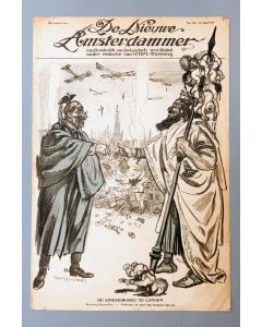 Jan Sluijters, Politieke voorstelling Eerste Wereldoorlog, litho, 1917