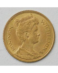 Gouden vijfje - 5 gulden goud, 1912