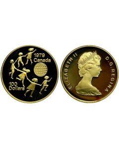 Canada, 100 dollar goud 1979