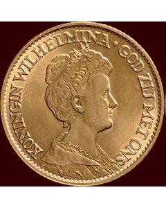 10 gulden goud, 1912