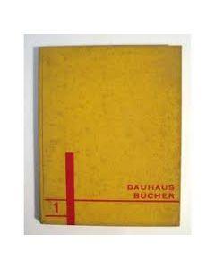 Walter Gropius, Internationale Architektur, Bauhaus Bücher No. 1, 1925