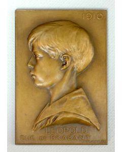 Léopold Duc de Brabant, 1910