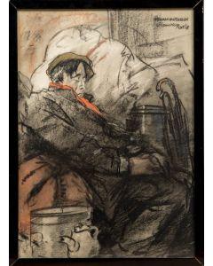 Herman Moerkerk, Belgische vluchteling in Stramproy, 1918