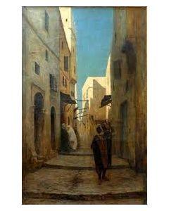 Philip Zilcken, Arabisch straattafereel