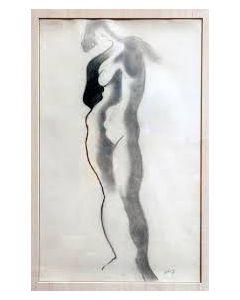 J.H. Moesman, Staand naakt, 1929