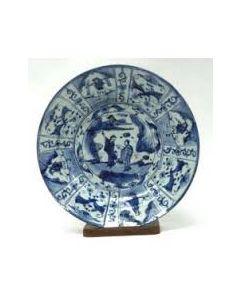 Chinese porseleinen schotel, Transition periode, ca. 1640