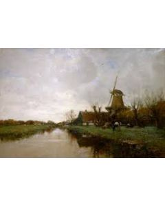 Charles Paul Gruppe, Hollands landschap
