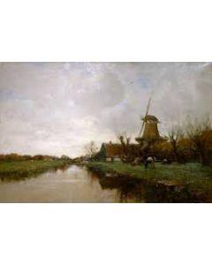 Charles Paul Gruppe, Hollands landschap