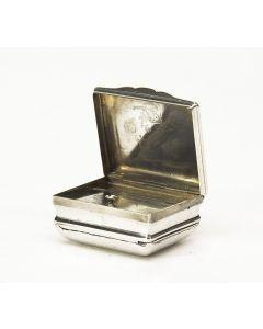 Zilveren snuifdoosje, 18e eeuw