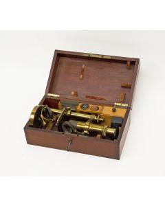 Microscoop, Nachet & Fils, Paris, ca. 1870