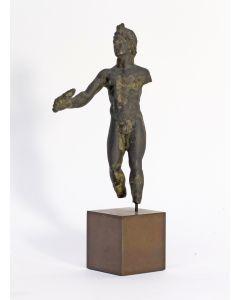 Romeins bronzen beeldje, Apollo, 1e/2e eeuw