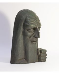 Adrianus Remiëns, bronzen beeld, 'Toen Mozes van de berg kwam', 1924