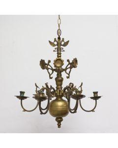 Geelkoperen kaarsenkroon, 19e eeuw