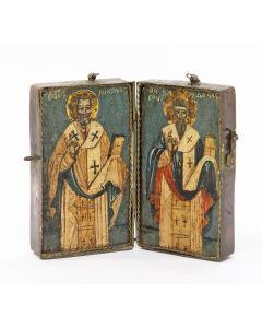 Iconendiptiek, Griekenland, 18e/19e eeuw