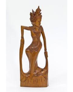 Balinees beeld, danseres, ca. 1950