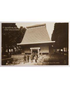 Prentbriefkaart, Exposition des Arts Décoratifs, Parijs 1925, Pavillon de la Hollande