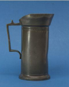Tinnen maat, 1 liter, Zwolle, 1892