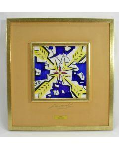 Salvador Dali, keramische tegel, gelimiteerde oplage
