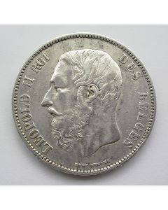 België, 5 Francs 1872
