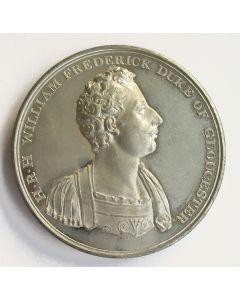 Penning, de Hertog van Gloucester gekozen als kanselier van de Universiteit van Cambridge, 1811