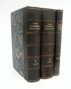 Kunstenaarslexicon. Alfred von Wurzbach, 'Niederländisches Künstler-Lexikon auf Grund Archivalischer Forschungen Bearbeitet' (1906)