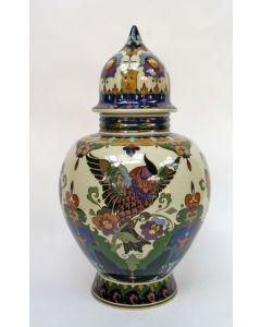 Dekselvaas, Amphora, Oegstgeest, ca. 1910/20