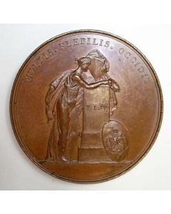 Penning op het overlijden van koningin Frederica Louisa, gemalin van Koning Willem I, 1837