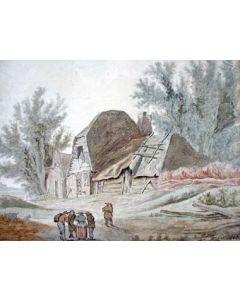 Jan Lodewijk Jonxis, aquarel, 1803