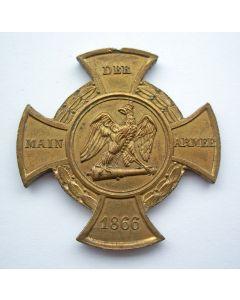 [Duitsland] Herinneringskruis van het Main-leger, 1866