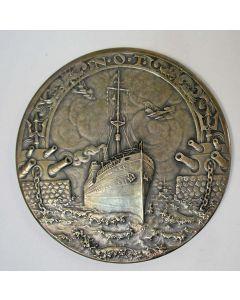 Zilveren penning, Nederlandsche Overzee Trust Maatschappij 1914-1919 {J.C. Wienecke]