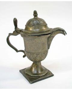Tinnen ampul, 19e eeuw