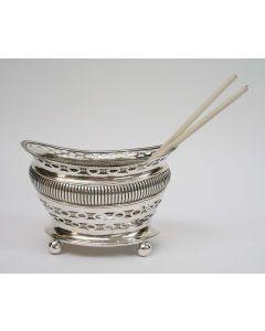 Zilveren pijpkomfoor, 1833