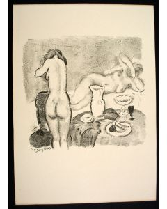 Jan Sluijters, 'Compositie', lithografie (1939)