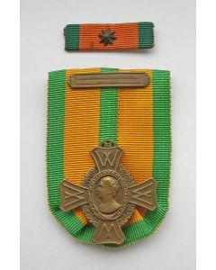 Oorlogsherinneringskruis, met gesp 'Oorlogsdienst Koopvaardij 1940-1945'