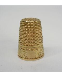Gouden vingerhoed, 19e eeuw
