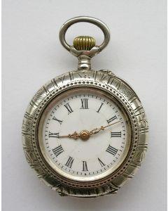 Zilveren dameszakhorloge, ca. 1900