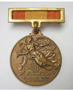 [Spanje]. Overwinningsmedaille van de Spaanse Burgeroorlog, 1939