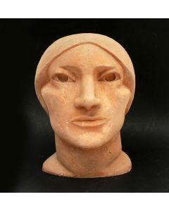 Han Wezelaar, Italiaanse boerin, terracotta sculptuur, 1927