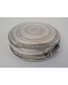Zilveren pepermuntdoosje, 1846